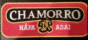 Chamorro - Hafa Adai patch