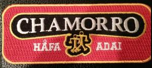 Chamorro - Hafa Adai patch