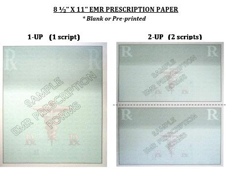 EMR Prescription Paper