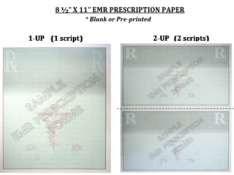 EMR Prescription Paper