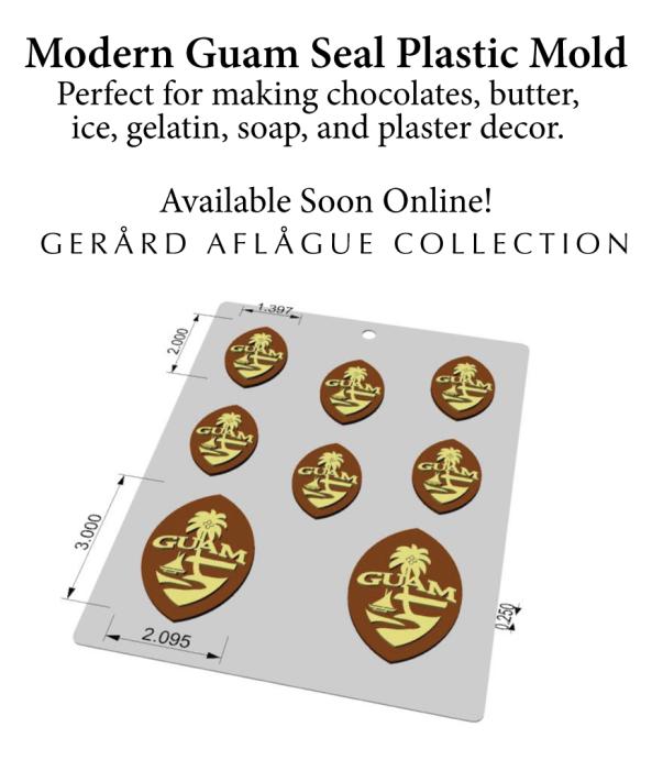 Coming Soon! Modern Guam Seal Plastic Mold