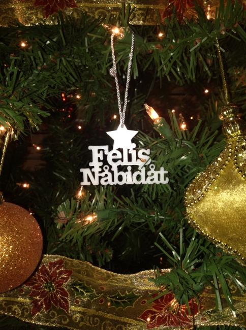 Felis Nabidat Ornament