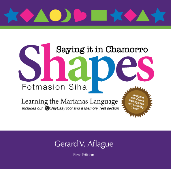 Shapes in Chamorro Soft Cover Art Front